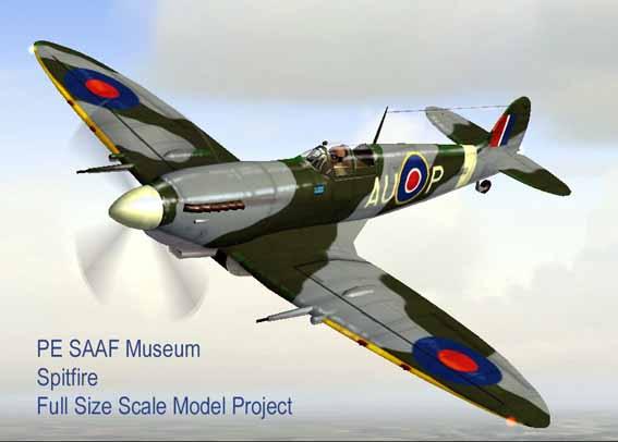 Spitfire Replica Project   SAAF Museum